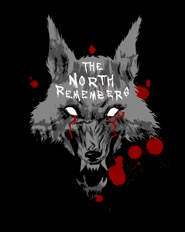The North Remembers T-Shirt $11 Game of Thrones tee at Unamee!