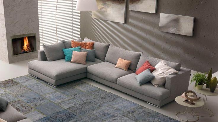 Il modello Xelle, un divano sfoderabile griggio creato con gusto da Chateau D'Ax. Scegli la casa Chateau, oltre a 60 anni di esperienza nell'arredamento.