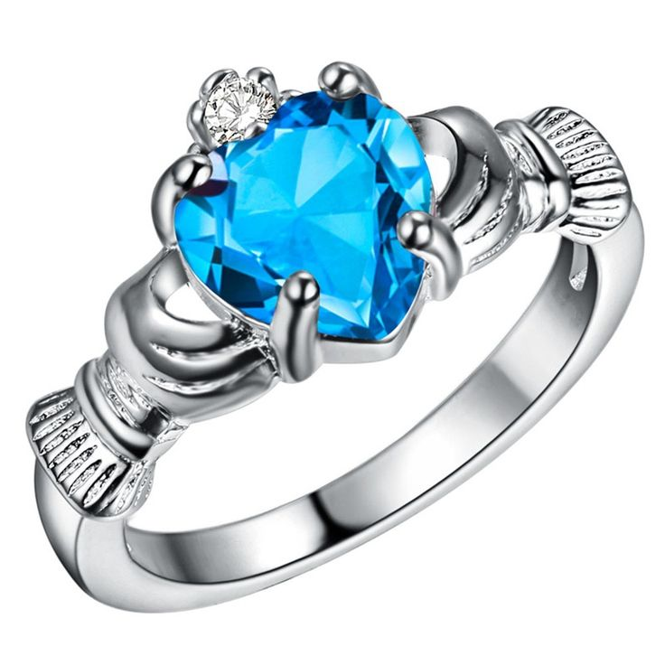 Traditional Irish wedding rings Claddagh Ring With my hands give you my heart, crown it with my love Women Friendship Best Gift