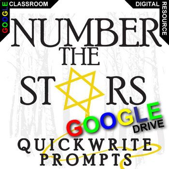 number the stars essay prompts Essay assignment for number the stars - free download as word doc (doc), pdf file (pdf), text file (txt) or read online for free.