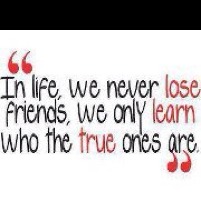 True Friends Never Leave You