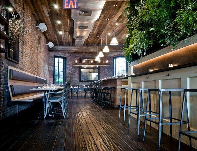 Industrial Look Interiors best 25+ rustic restaurant design ideas on pinterest | rustic