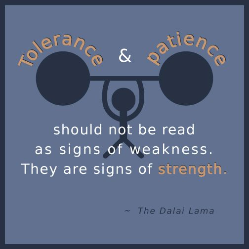 Quote: The Dalai Lama on strength
