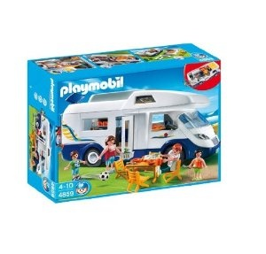 Playmobil 4859 Family Camper: Amazon.co.uk: Toys & Games