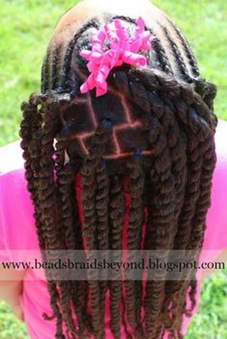 Braid Hairstyles For Kids find this pin and more on love the kids braidstwist and natural styles by lisabhookinitup Little Girl Braids Hairstyles