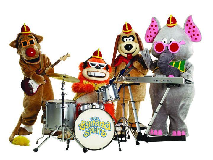 The Banana Splits: Snorky, Bingo, Fleegle and Drooper: Remember, The Bananas Split, Blast, Cartoon, Childhood Memories, 70S, Hanna Barbera, Kids, Growing