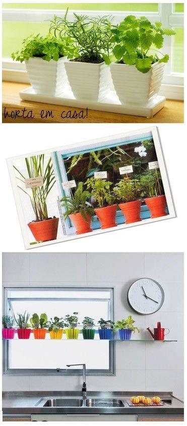 ideas about Horta Em Casa on Pinterest Mini horta em casa, Horta ...