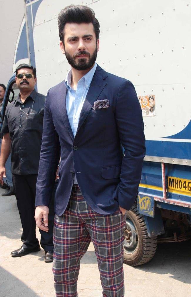 Fawad Khan at 'Kapoor & Sons' success bash. #Bollywood #Fashion #Style #Handsome