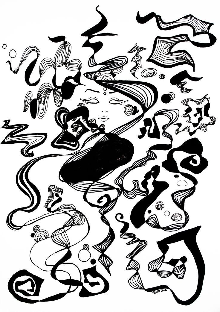 Free me - Pen Sketch
