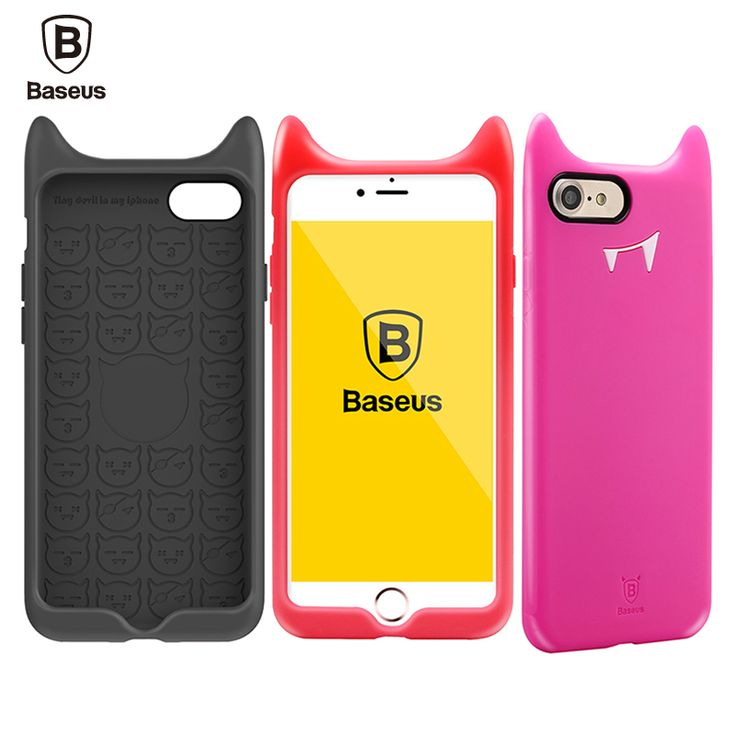 Find More Phone Bags & Cases Information about Baseus Luxury Devil Case For iPhone 7 Case For iPhone 7 Plus Case Cover 4.7/5.5'' Silicone Little Devil Protective Shell,High Quality case for iphone 4 3d,China case money Suppliers, Cheap case iphone from Ranshine (HK) Technology Co., Ltd. on Aliexpress.com