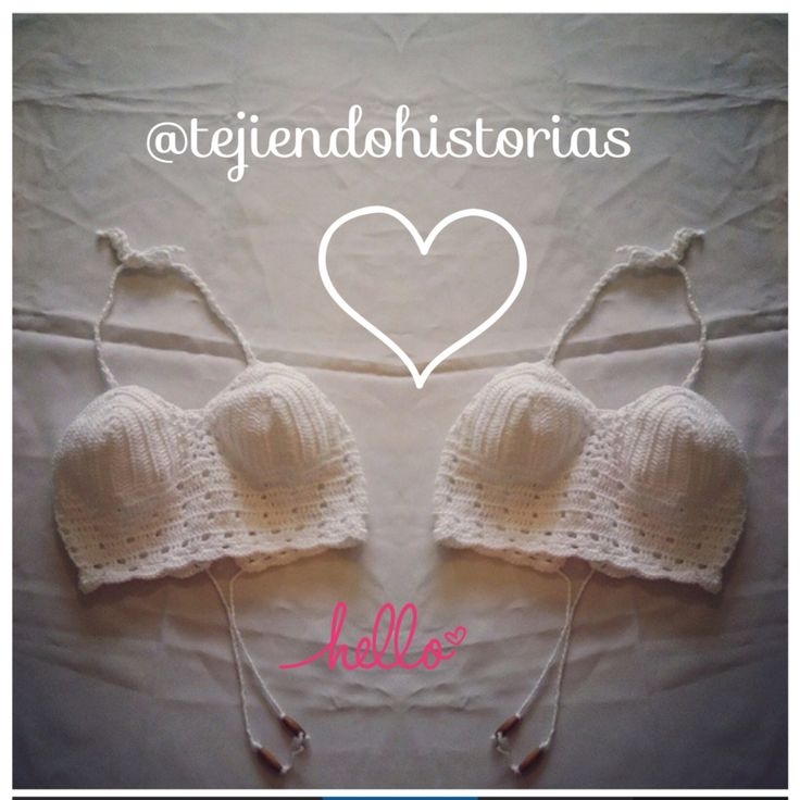 Cropped Crochet top Croptop en crochet