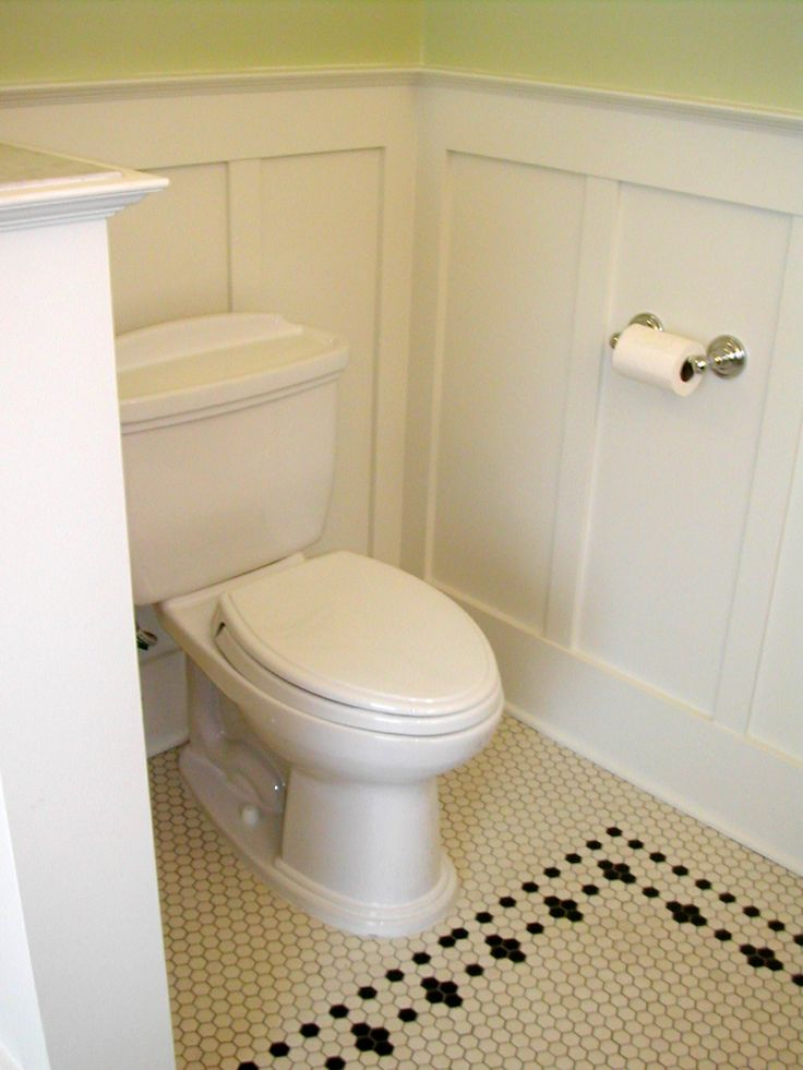 1900 1919 Arciform Portland Remodeling Design Build: Wainscotting, Hex Tile And Simple Fixtures Are Great Turn