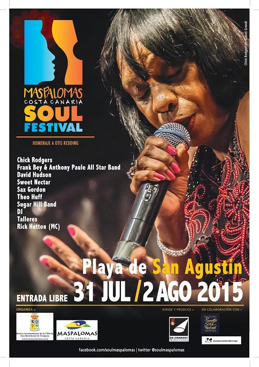 * * * Soul Festival Maspalomas * * *  On Friday the 31st of July, the first ever Maspalomas Costa Canaria Soul Festival will take place, on the beach of...Read More on Google+  #soul #music #soulmusic #beach #costa #festival #event   #grancanaria #canaryislands #islascanarias #spain #españa