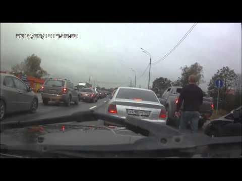 Dog Puts An End To Russian Road Rage - #funny #Russia #RoadRage #dog