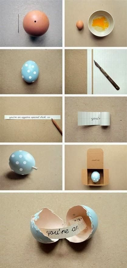 DIY: The idea of trendy. Such a Cute Idea!