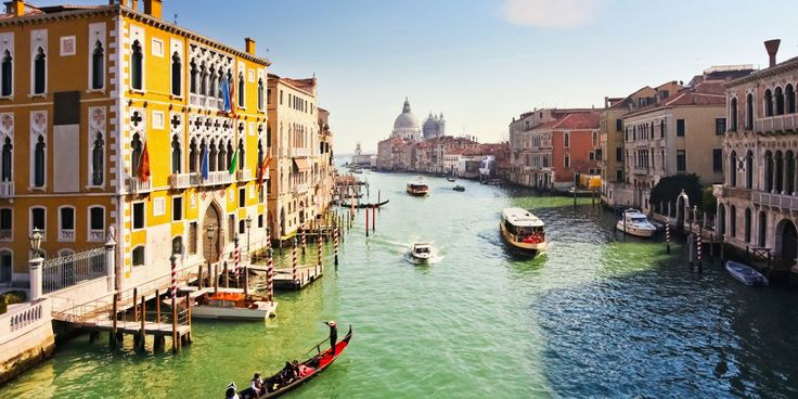 Venice, Italy's Grand Canal