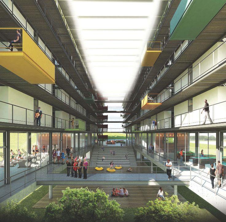 Foto 32 de 33. 3° Pré-classificado no concurso para São José dos Campos - Dal Pian Arquitetos Associados. Image Cortesia de IAB-SP