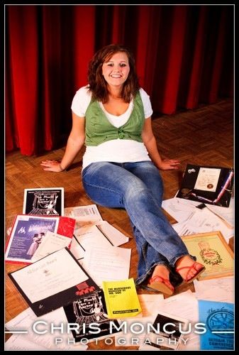 Theater senior pictures