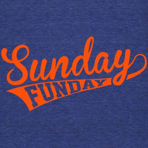 Sunday Funday (Orange) Shirt