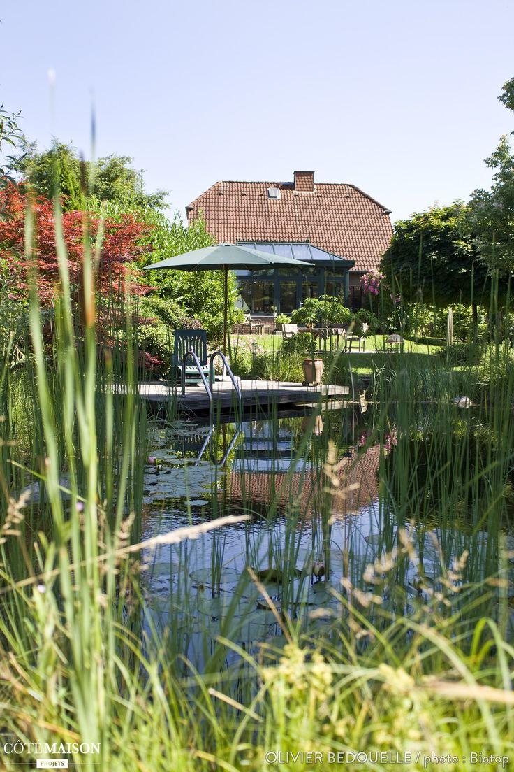 Une baignade qui se fond avec harmonie dans son for Architecture qui se fond dans le paysage