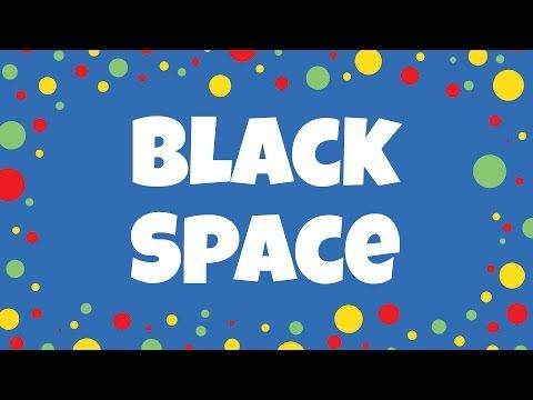 Black Space | Kids Colour Song | Children Love to Sing - YouTube