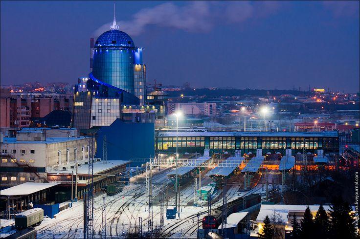 Самое высокое здание вокзала в Европе