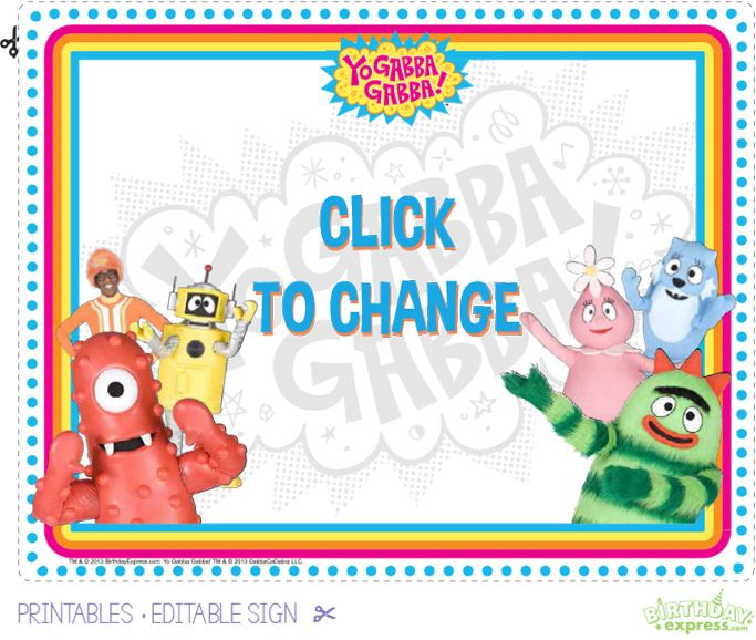 35 best yo gabba gabba images on pinterest | yo gabba gabba, Wedding invitations
