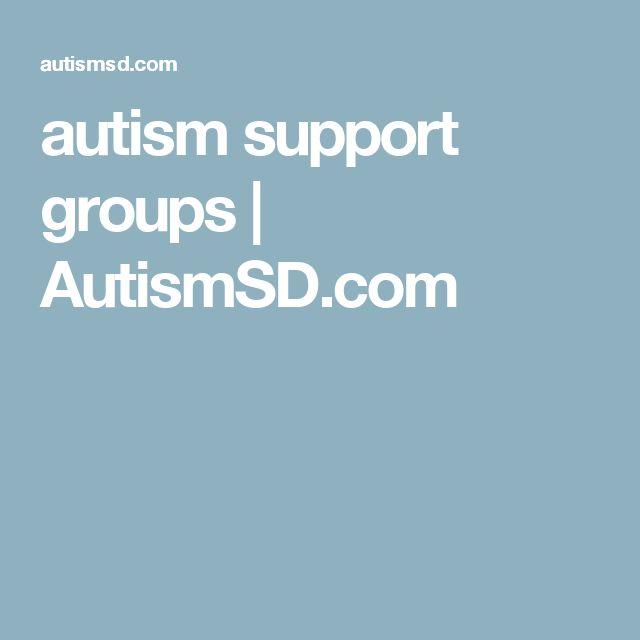 autism support groups | AutismSD.com