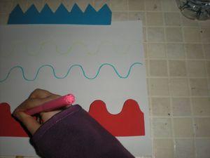réglette cartonnée pour élèves en difficulté de graphisme