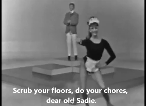 Sadie the Cleaning Lady by John Farnham, 1967.