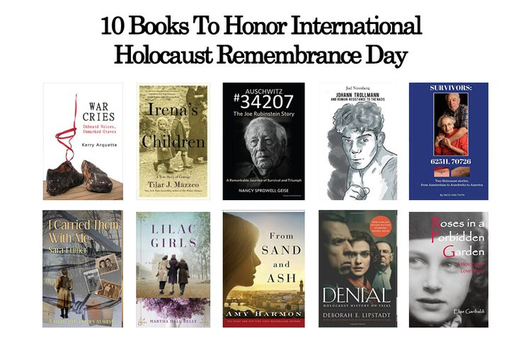 10 Books To Honor International Holocaust Remembrance Day