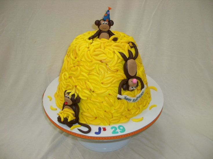 49 best images about Cake Design for Monkey Cake on ...