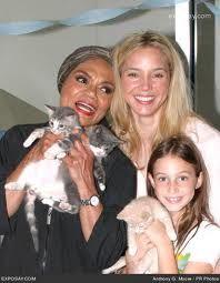 Eartha Kitt with Daughter Kitt and Grandaughter Rachel