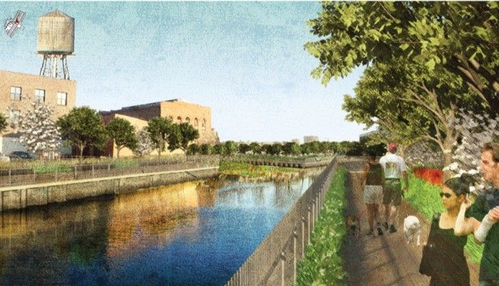 "Gallery of Brooklyn to Transform Canal Into ""Sponge Park"" - 1"
