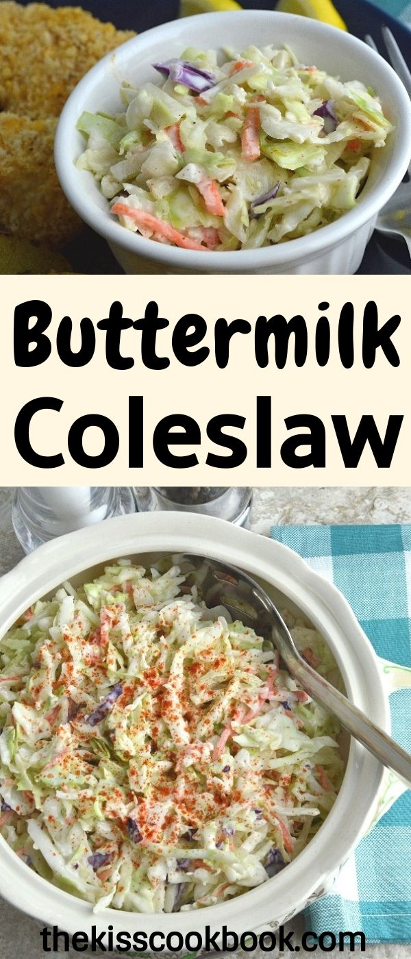 Buttermilk Coleslaw Recipe Best Coleslaw Recipe Coleslaw Recipe Easy Coleslaw