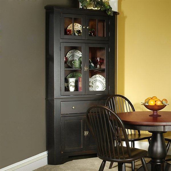 canal dover 34 3000 w gatherings corner hutch table in weathered rh pinterest com Dining Room Furniture Hutch Corner Hutch for Kitchen or Dining Room
