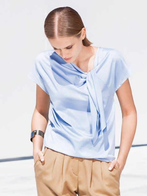 Knotted Blouse 08/2016