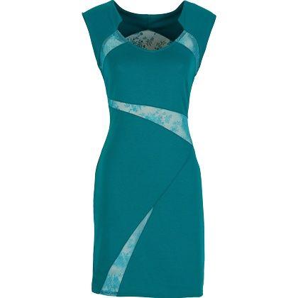 Hübsches #Kleid in #Türkis von #BODYFLIRT. Das Kleid hat tolle #Spitzeneinsätze und ist ein echter #Hingucker. ♥ ab 24,99 €