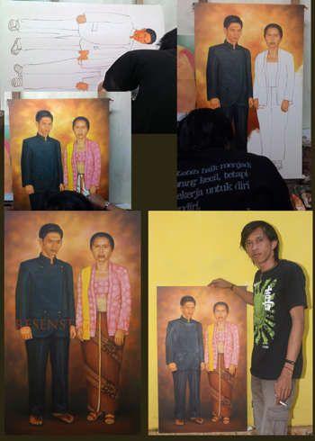 """Hari Tua"" #Creative #Art in #painting @Touchtalent http://bit.ly/Touchtalent-p"
