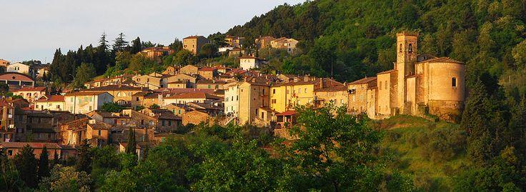 Chianni, a tuscan hilltop village