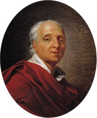 Jean-Simon Berthélemy - Portrait of Denis Diderot