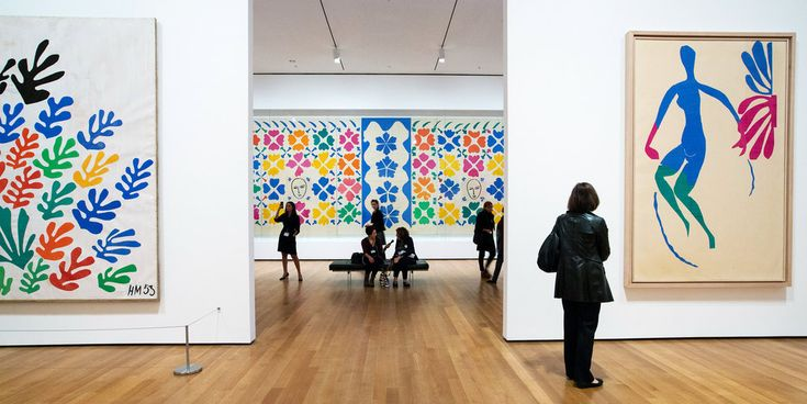 "Went to ""Henri Matisse: The Cut-Outs,"" at the Museum of Modern Art over the weekend and have SO MUCH INSPIRATION. Apartment makeover time?"