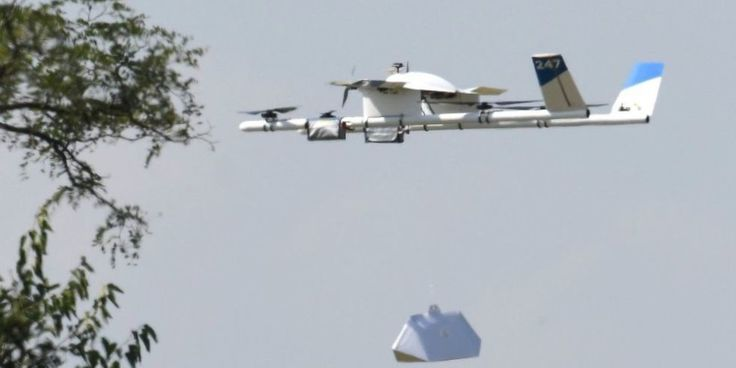 Watch Google's Burrito-Delivery Drone In Action
