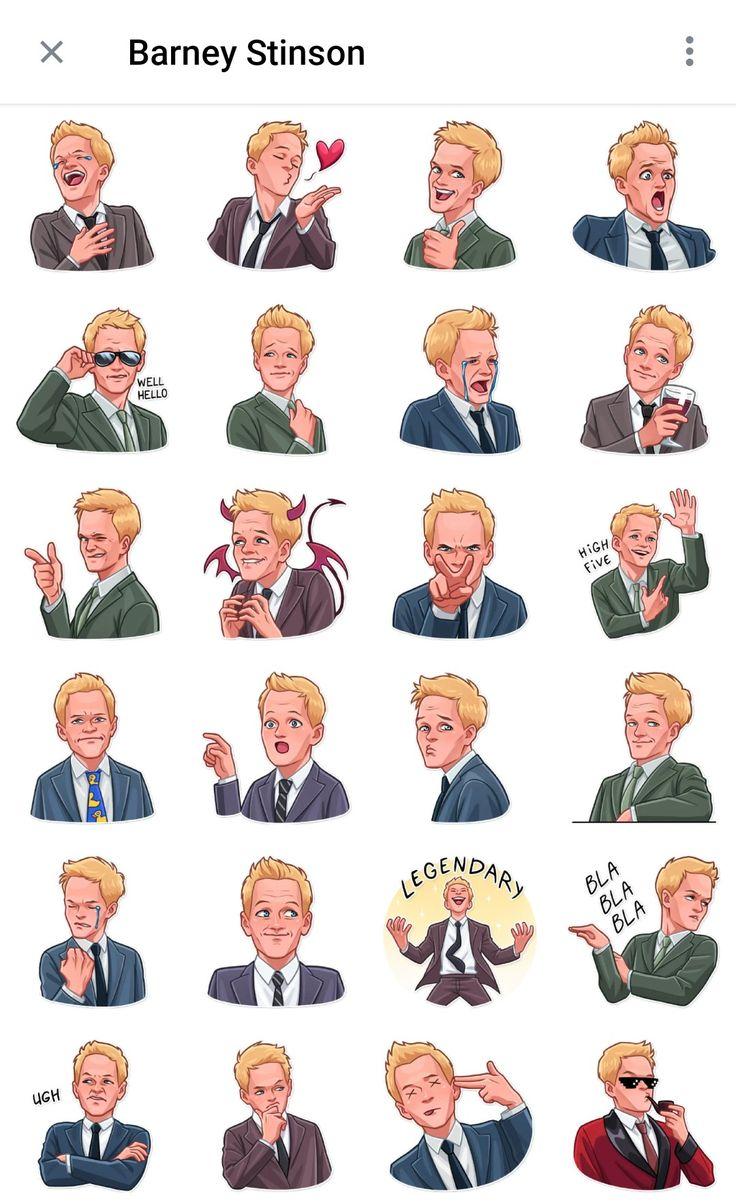 Barney Stinson Telegram sticker packs   Barney stinson, How i met ...