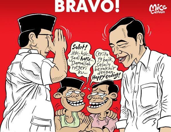 Mice Cartoon, Rakyat Merdeka - Oktober 2014: Bravo!