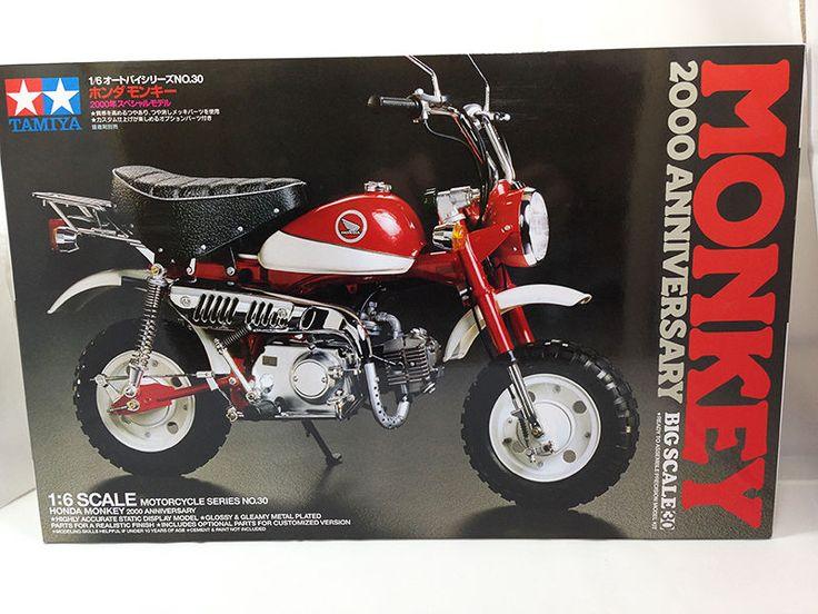 Tamiya JAPAN 16030 Honda Monkey 2000 Edition Motorcycle 1/6 scale model kit #Tamiya