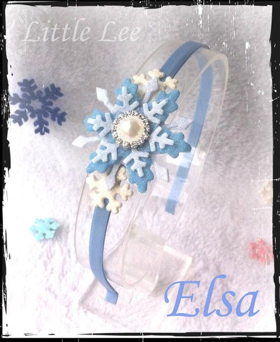 Frozen Elsa inspired Headband by LittleLeeCreations on Etsy