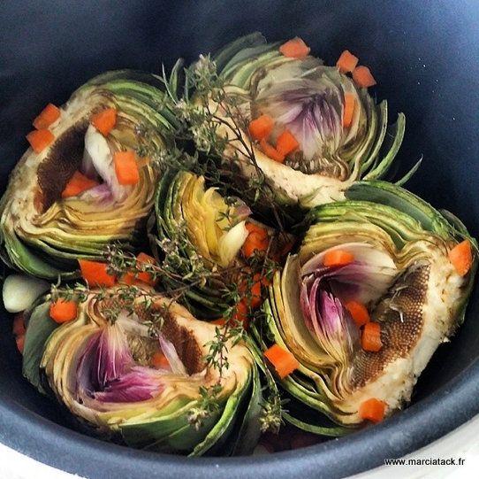 Une recette d'artichauts à la barigoule facile à faire qui sent bon la Provence, facile à faire et aux saveurs décuplées.