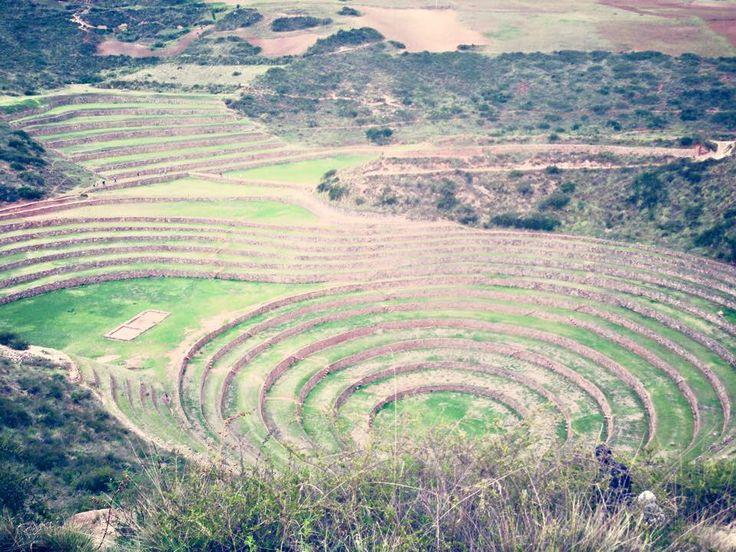 Moray Cuzco Peru