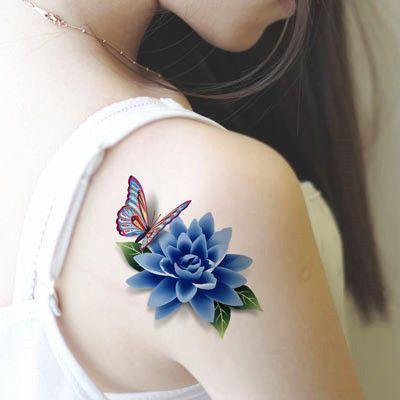 loto azul tattoo - Buscar con Google